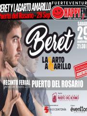 Beret y Lagarto Amarillo en las Fiestas del Rosario 2018