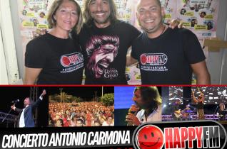 Concierto de Antonio Carmona en la XXIV Semana Cultural Playa de la Cebada