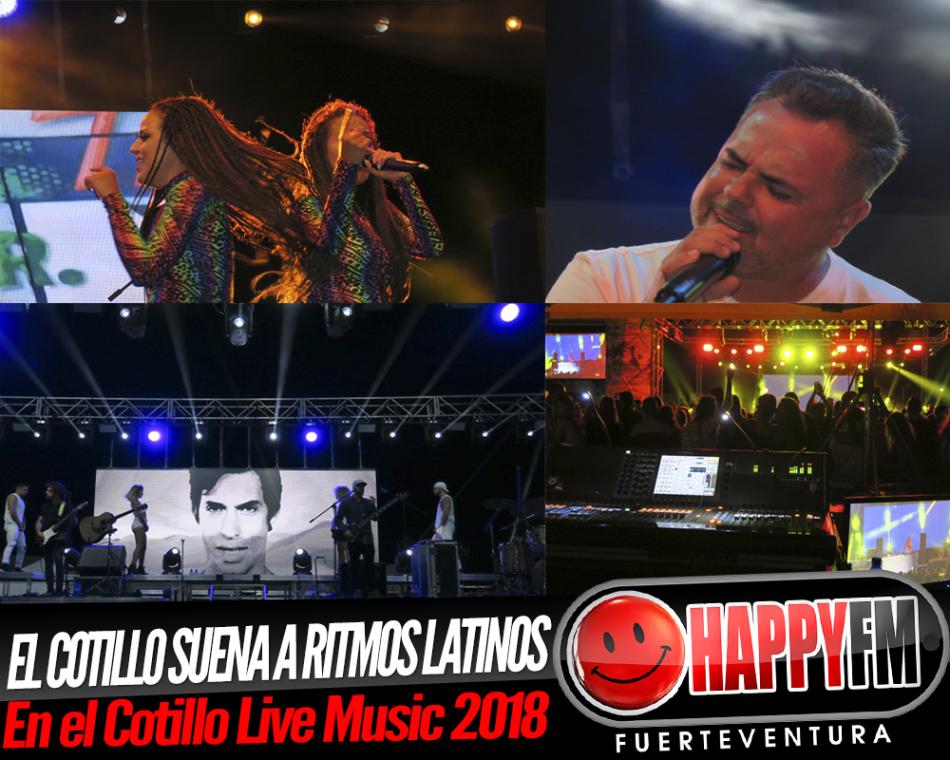 El Cotillo baila los ritmos latinos del Cotillo Live Music 2018 con las K-Narias, Carlos Baute y Juan Magán