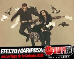 Efecto Mariposa de concierto en la Semana Cultural Playa de la Cebada 2018
