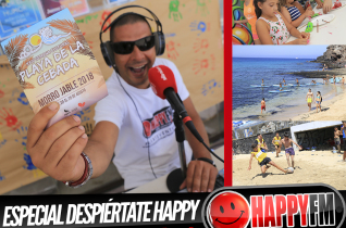 Especial Despiértate Happy en la XXIV Playa de la Cebada