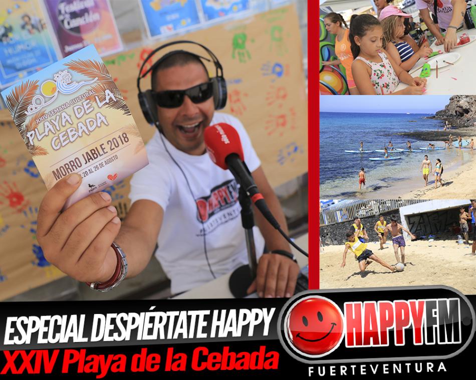 Especial Despiértate Happy desde la XXIV Playa de la Cebada