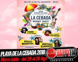 XXIV Semana Cultural Playa de la Cebada