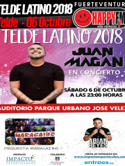 Telde Latino 2018: Juan Magán, Orquesta Maracaibo y Abián Reyes