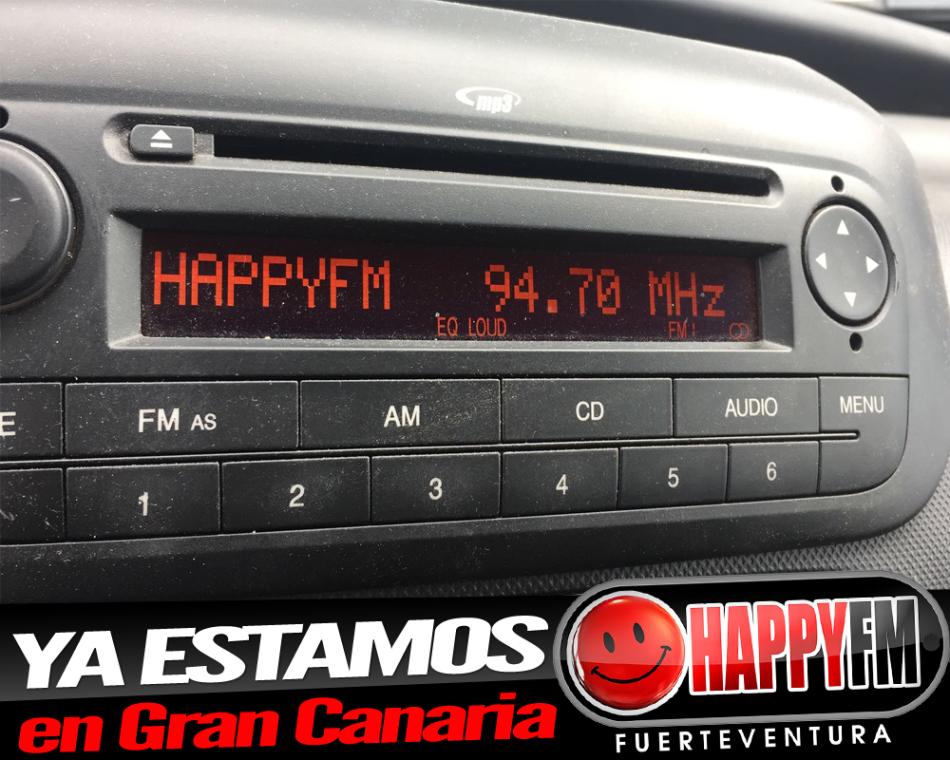 Ya puedes escuchar Happy FM en Gran Canaria