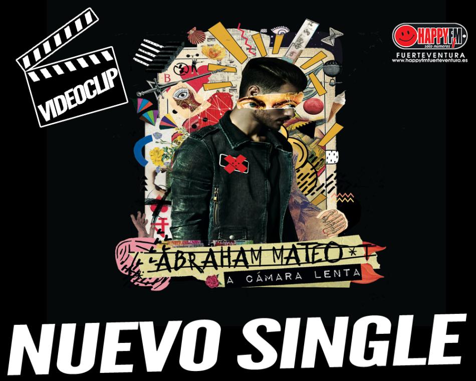 """¿Has visto el videoclip del nuevo single de Abraham Mateo, """"A Cámara Lenta""""?"""