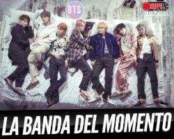 """""""BTS"""" es la banda del momento"""