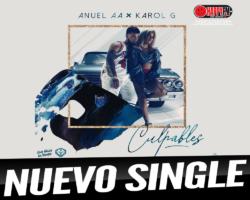 """Karol G y Anuel AA son los """"Culpables"""" de este nuevo single"""