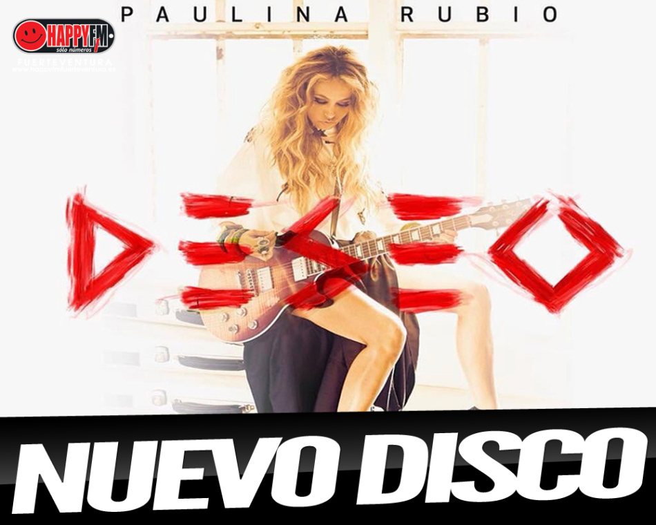 """A punto """"Deseo"""", el nuevo disco de Paulina Rubio"""