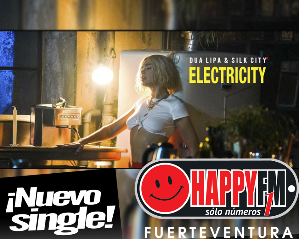 """Dua Lipa estrena """"Electricity"""" junto a Mark Ronson y Diplo"""