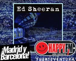Conciertos de Ed Sheeran en Madrid y Barcelona