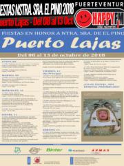 """Fiestas en honor a Nuestra Señora De """"El Pino"""" 2018 en Puerto Lajas"""