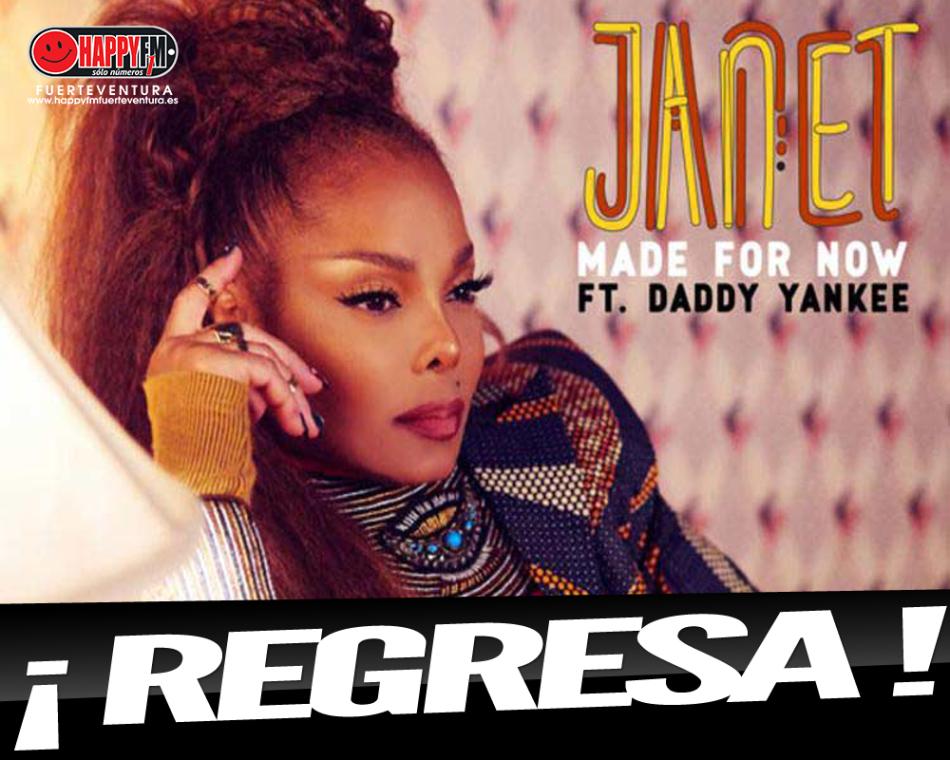 """Janet Jackson regresa acompañada de Daddy Yankee con el tema """"Made For Now"""""""