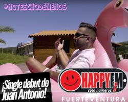 """""""No Te Echo De Menos"""" es el single debut de Juan Antonio"""