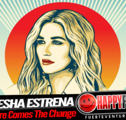 Kesha publica el tema 'Here Comes The Change'