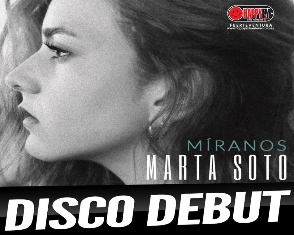"""Marta Soto publica """"Míranos"""", su disco debut"""