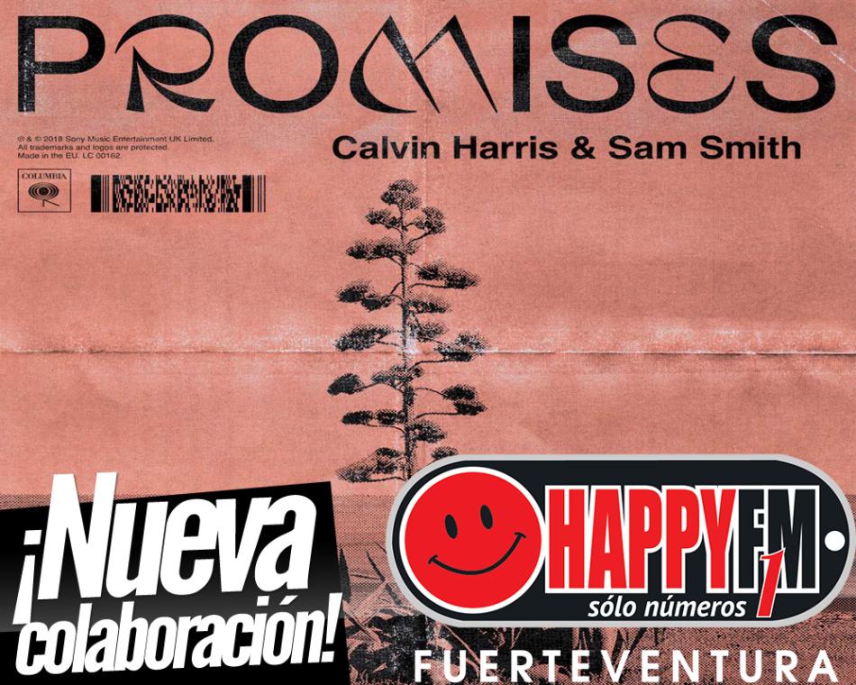 """""""Promises"""" es el nuevo single de Calvin Harris y Sam Smith"""