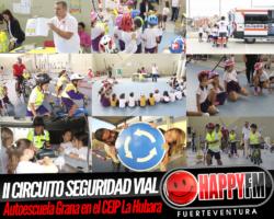 II Circuito de Seguridad Vial Autoescuela Grana desde el CEIP La Hubara