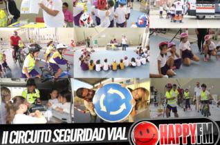 Directo Despiértate Happy en el II Circuito de Seguridad Vial de la Autoescuela Grana desde el CEIP La Hubara