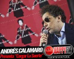 """Andrés Calamaro celebra 40 años en la música con el disco """"Cargar La Suerte"""""""