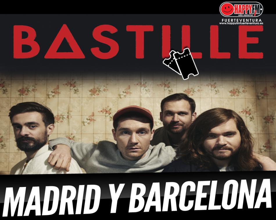 Bastille anuncian conciertos en Madrid y Barcelona