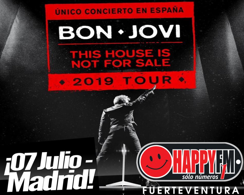 Único concierto de Bon Jovi en Madrid