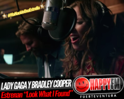 "Lady Gaga y Bradley Cooper presentan ""Look What I Found"""