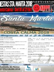 Fiestas en honor a Santa Marta 2018 en Costa Calma (del 18 al 21 Oct)