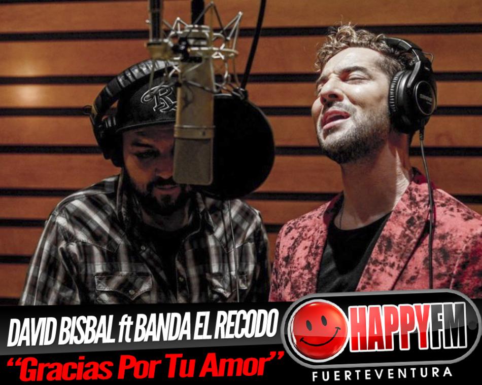 """David Bisbal colabora con la Banda El Recodo en el tema """"Gracias Por Tu Amor"""""""