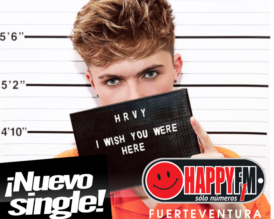 "HRVY regresa con el single ""I Wish You Were Here"""