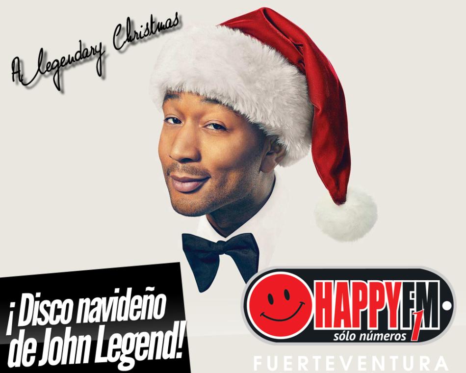 John Legend anuncia su primer disco de canciones navideñas