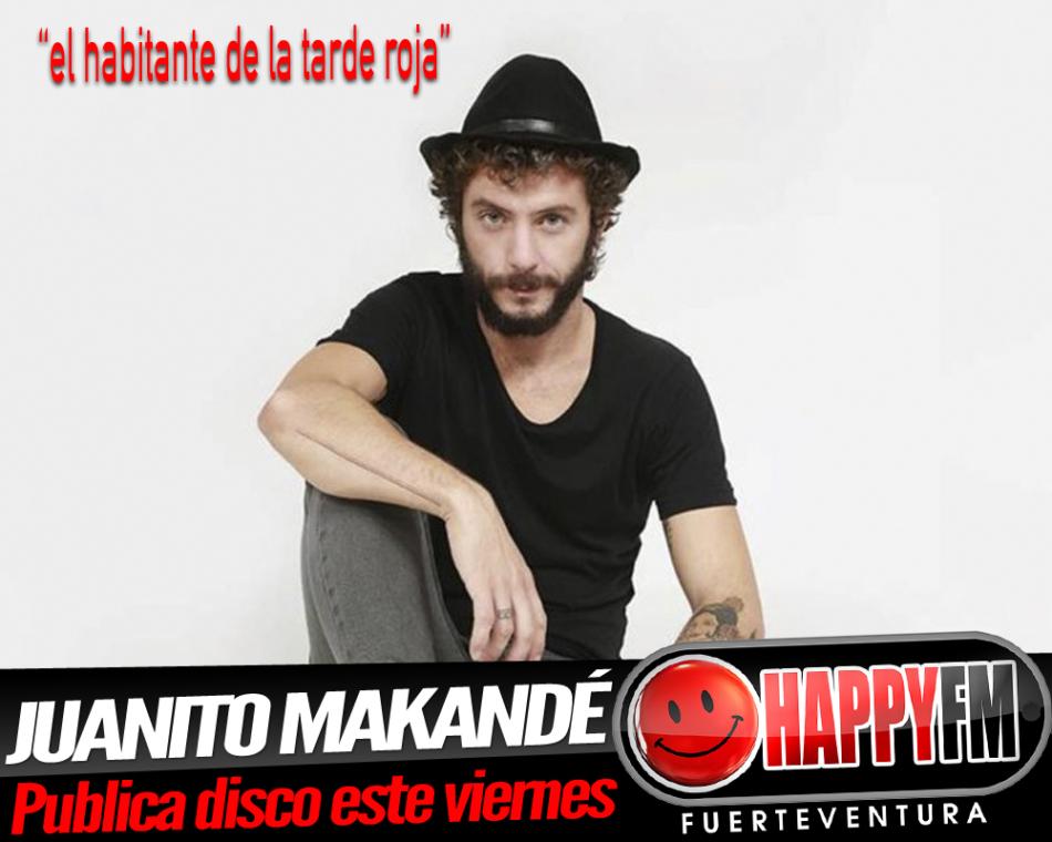 Este viernes se pone a la venta el quinto disco en solitario de Juanito Makandé