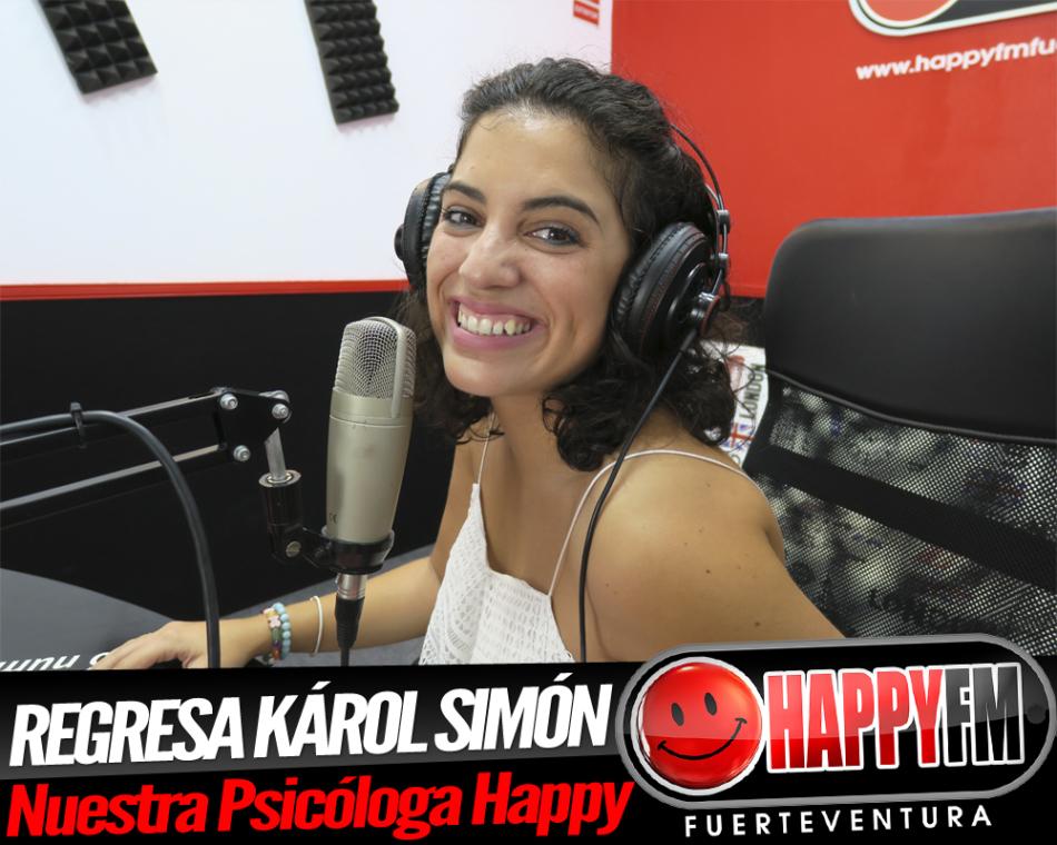 Karol Simon regresa a Happy FM explicándonos como tener confianza en uno mismo