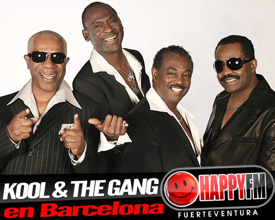 Concierto de Kool & The Gang en Barcelona