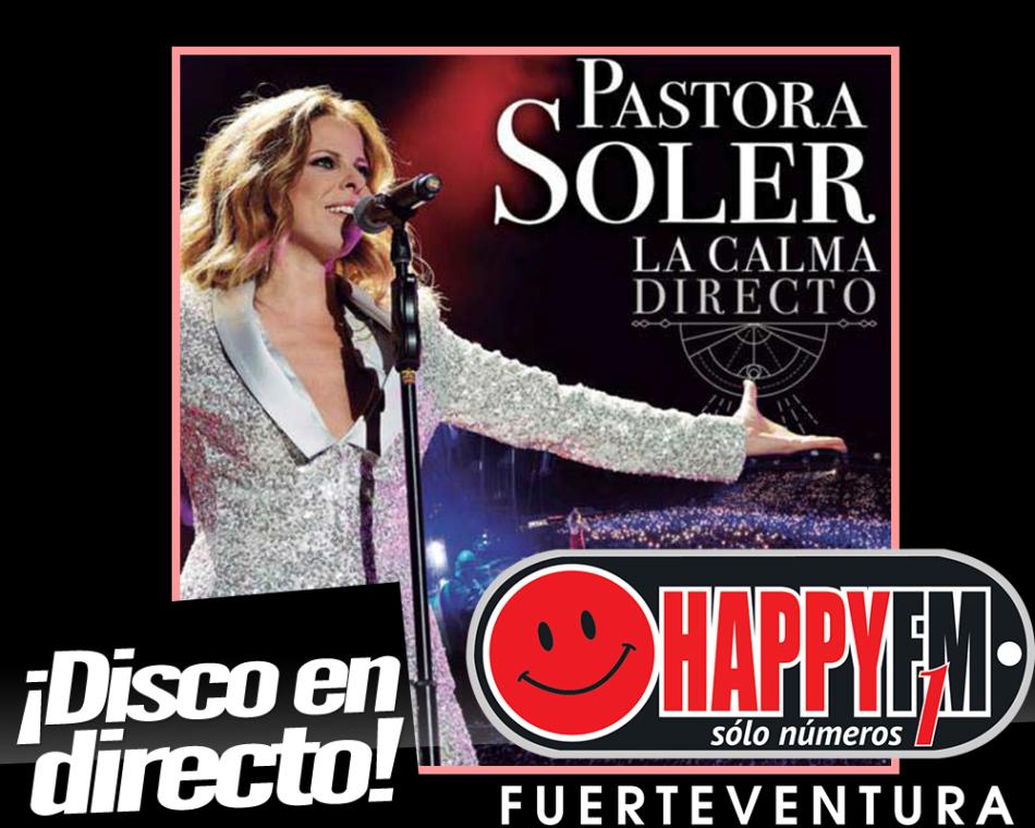 """A punto el disco en directo de Pastora Soler,  """"La Calma Directo"""""""
