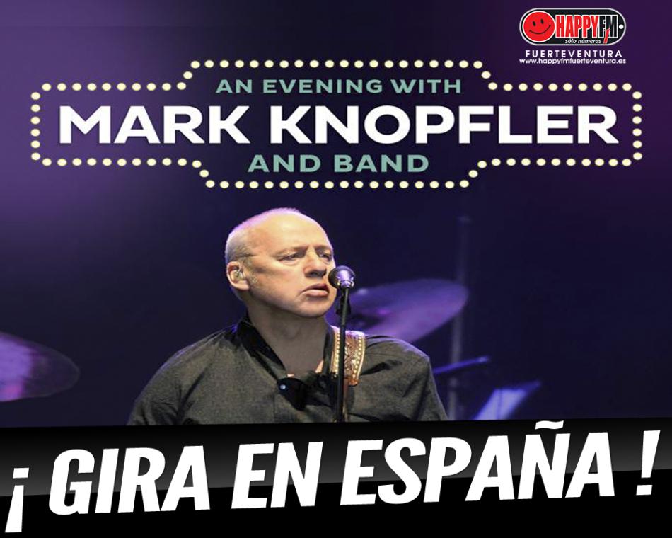 Mark Knopfler anuncia conciertos en nuestro país en 2019