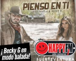 """Becky G. en """"modo balada"""" junto a Joss Favela en """"Pienso en Ti"""""""