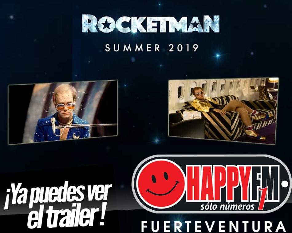 Ya puedes ver el trailer de Rocketman, la película sobre Elton John