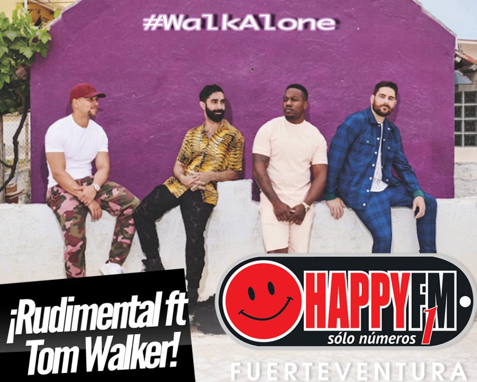 """""""Walk Alone"""" es lo nuevo de Rudimental ft Tom Walker"""