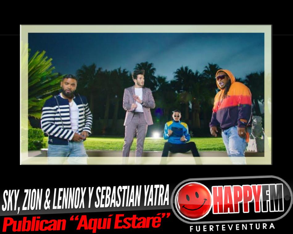 Sky, Zion & Lennon y Sebastian Yatra publican el tema «Aquí Estaré»