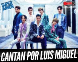 """Los koreanos """"Super Junior"""" versionan """"Ahora Te Puedes Marchar"""" de Luís Miguel"""