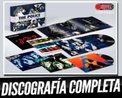 The Police publica toda su discografía en vinilo