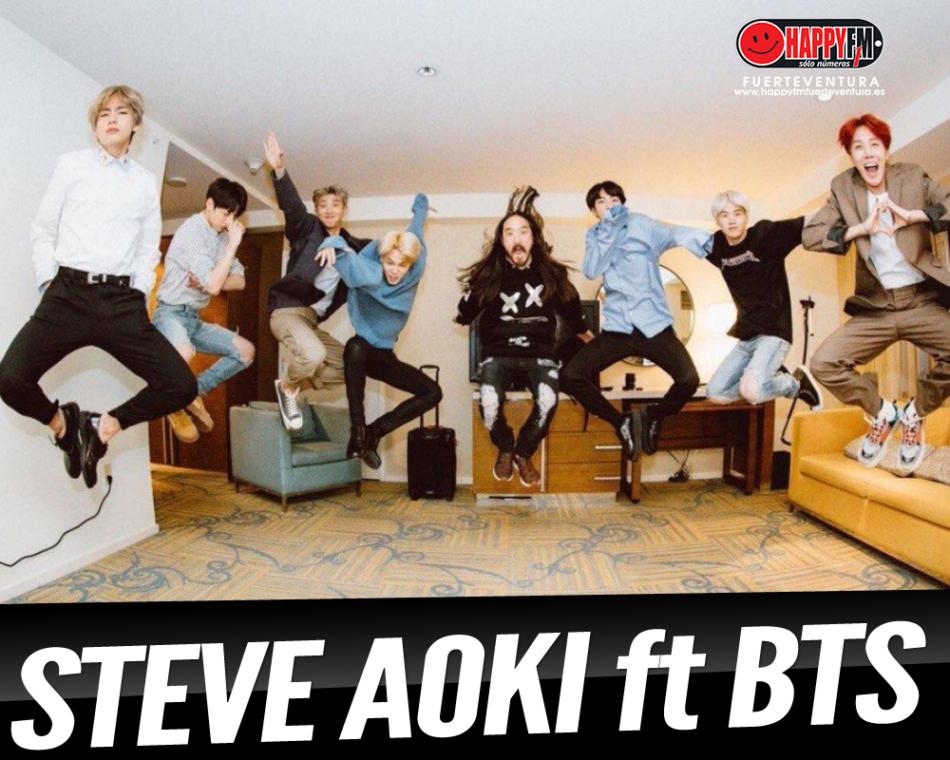 Steve Aoki presenta single junto a BTS