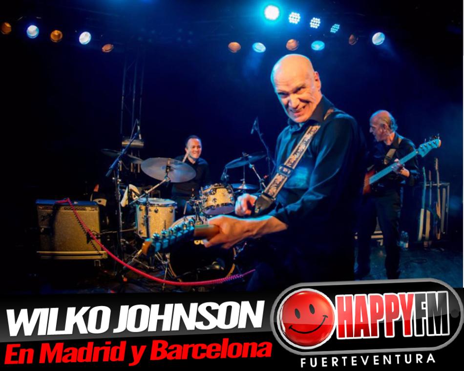 Wilko Johnson ofrecerá dos conciertos en nuestro país