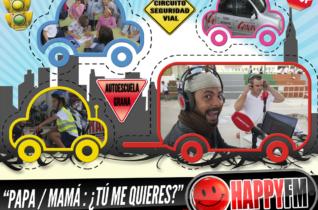 Directo Despiértate Happy en el III Circuito de Seguridad Vial de la Autoescuela Grana desde el CEIP Pablo Neruda