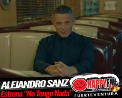 """Alejandro Sanz estrena por fin """"No Tengo Nada"""""""