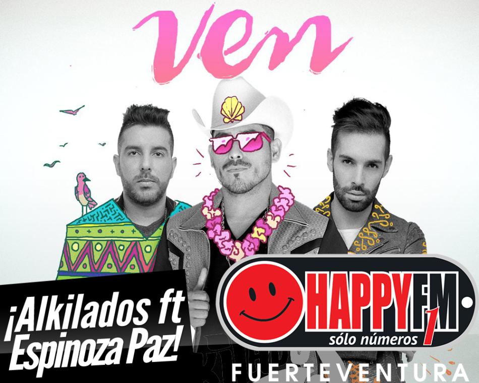 """""""Ven"""" es lo último de Alkilados junto a Espinoza Paz"""