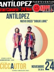 Antílopez llega a Gran Canaria con su nuevo disco