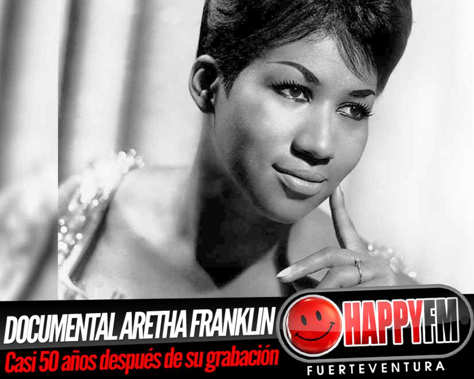 A punto el documental sobre Aretha Franklin grabado hace casi 50 años