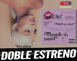 Ariana Grande a lo grande con doble estreno musical